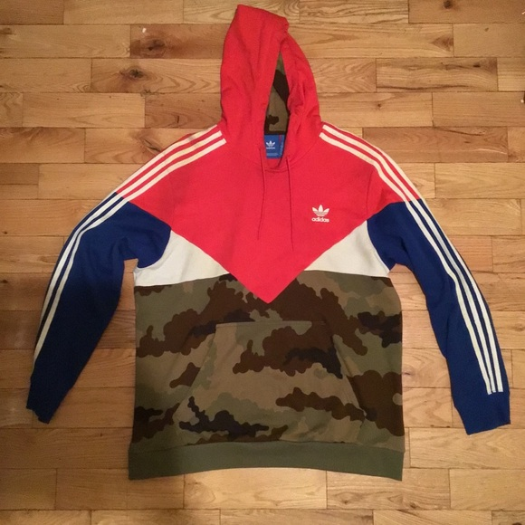 finest selection various colors latest fashion Adidas Originals Camo Pack Hoodie